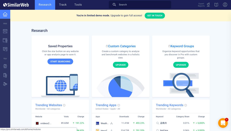 herramienta similar web